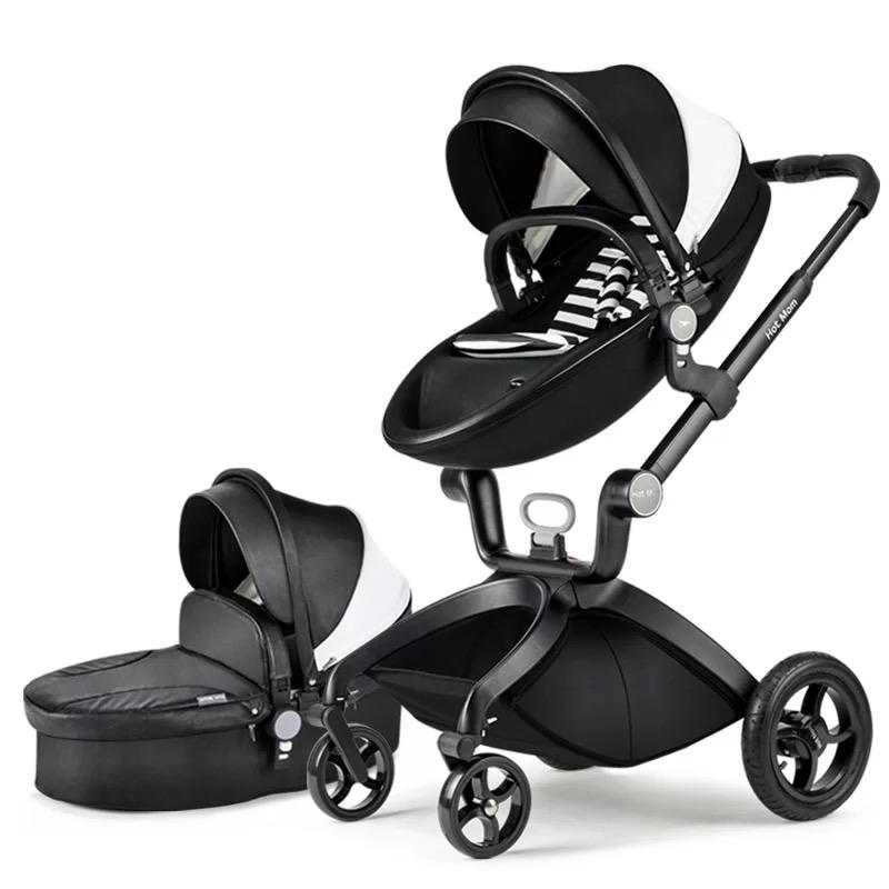 HOT MOM Luxury Baby Stroller 9